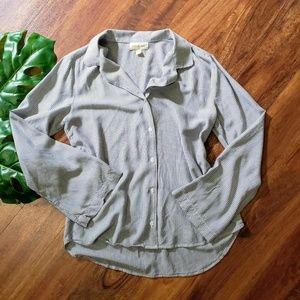 Cloth & Stone Vertical Striped Button Down